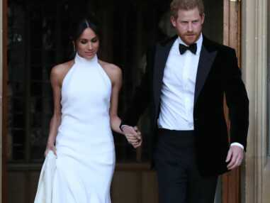 PHOTOS - Meghan Markle sublime en robe Stella McCartney avec la bague de Diana offerte par Harry !