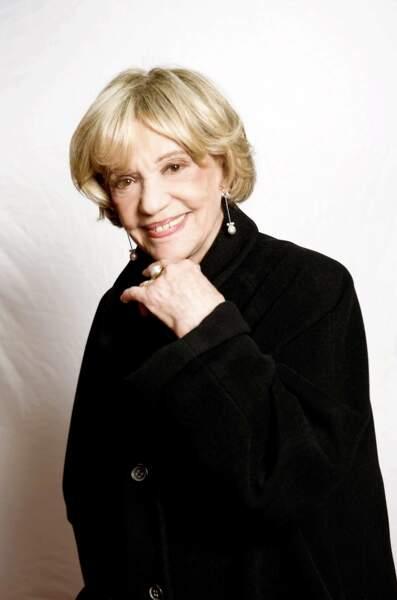 L'actrice en plein shooting en 2009 ne quittait plus son carré blond brillant