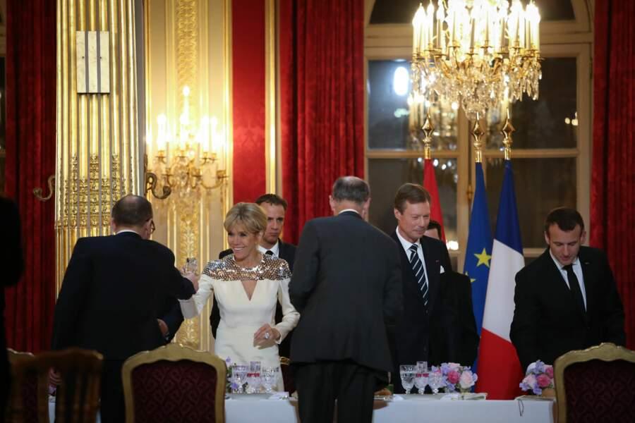 Lundi 19 mars, un dîner d'Etat était donc organisé à l'Elysée.