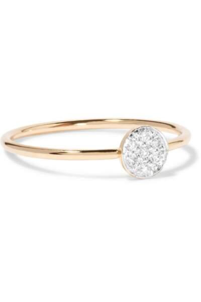 Bague en or 14 carats et diamants, I+I - 276€