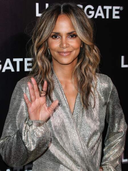 Halle Berry à la projection de Long Shot lors du CinemaCon 2019 au Caesars Palace à Las Vegas, le 4 avril 2019