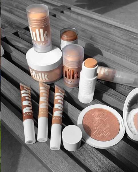 Milk MakeUp, vegan et cruelty free,s'impose grâce à ses formats sticks et son make-up multi-usages