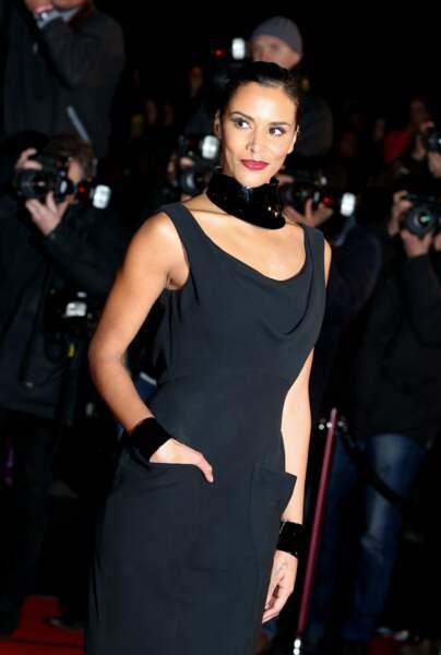 Shy'm lors de la 15ème édition des NRJ Music Awards à Cannes, le 14 decembre 2013