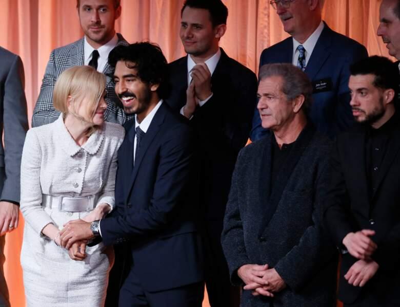 Nicole Kidman, Ryan Gosling, Dev Patel et Mel Gibson