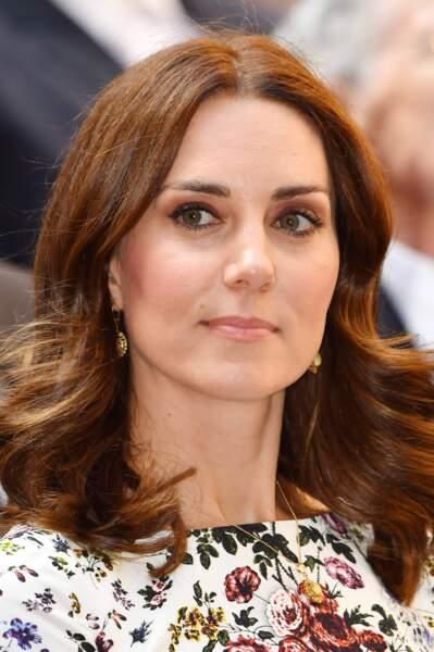 Kate Middleton : selon la lumière et l'éclairage, elle passe du brun au roux en un clin d'œil