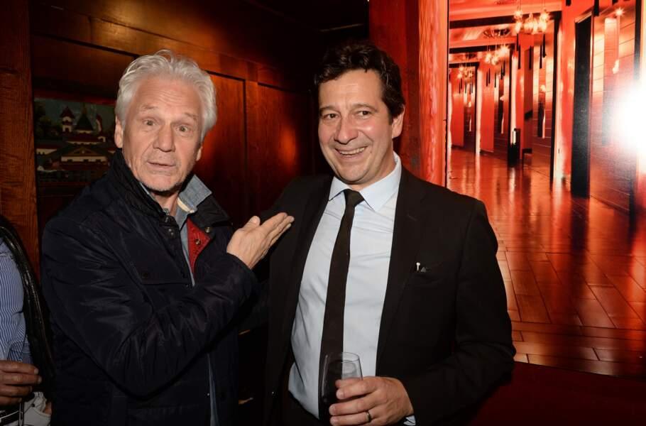 Laurent Gerra et Gérard Lenorman