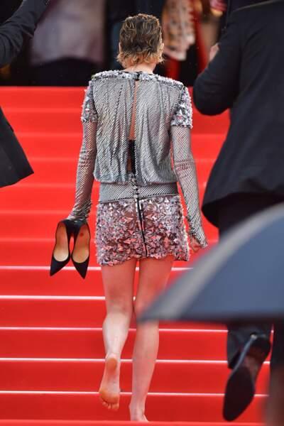 Kristen Stewart, plus à l'aise sans ses talons