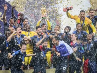 PHOTOS - Griezmann, Giroud, Lloris : les pères de famille partagent leur belle victoire avec leurs enfants