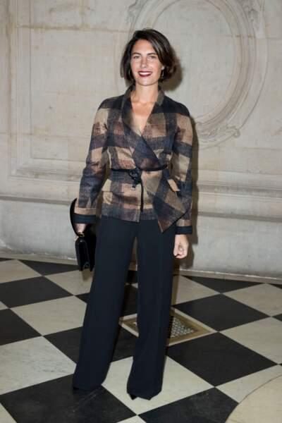 Alessandra Sublet avec un joli carré court