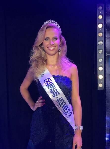 Pamela Texier, 22 ans, a été sacrée Miss Champagne-Ardenne et tentera de devenir Miss France 2019