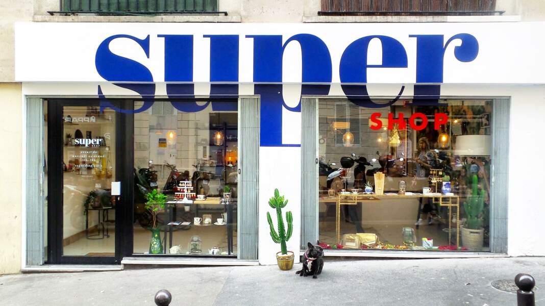 SUPER Shop c'est le concept store rétro chic incontournable du 9e, à découvrir au 29, rue Henry Monnier