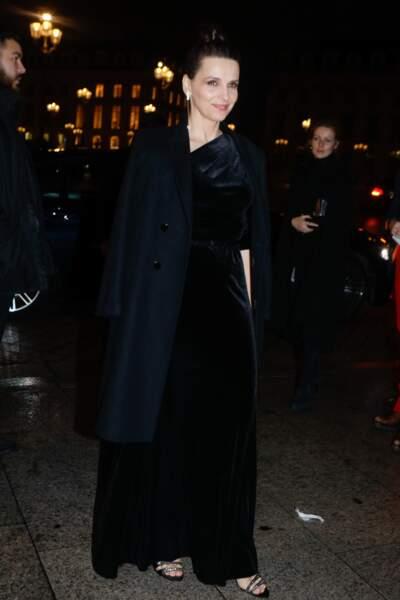Juliette Binoche au défilé de mode printemps-été 2019