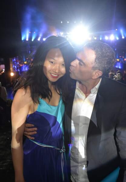 Yann Moix et une amie