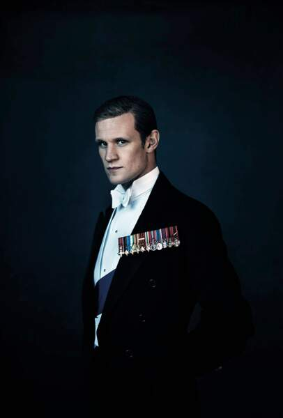 "Matt Smith dans le rôle du prince Philip, duc d'Edimbourg, dans la série ""The Crown"" (Netflix)"