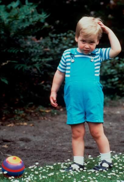 Est-ce le prince William ou Baby George?