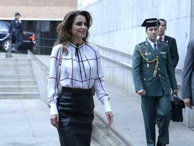 Gotha - Quand Letizia d'Espagne copie le look de Rania de Jordanie