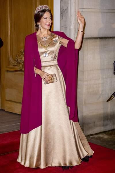 La toujours très élégante princesse Mary