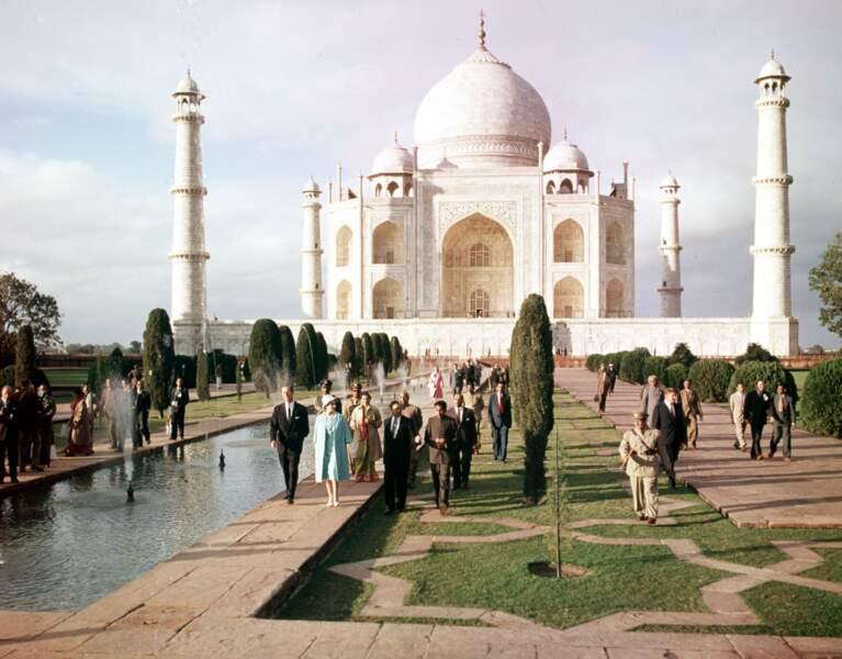 Passage obligé à chaque visite en Inde, le Taj Mahal