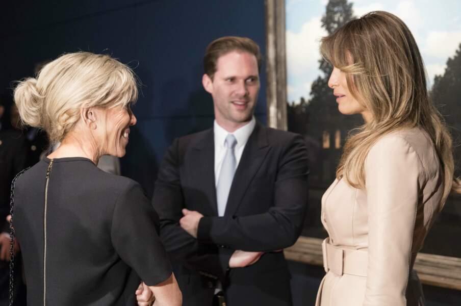 Le 25 mai dernier, Brigitte Macron et Melania Trump se rencontraient au sommet de l'OTAN à Bruxelles