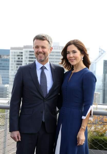 Frederik de Danemark et sa femme Mary hériteront de la couronne danoise à la mort de la reine Margrethe II