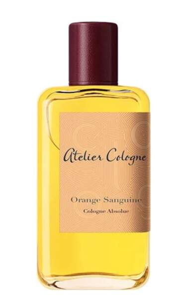Orange Sanguine, Atelier Cologne, 120 € les 100ml