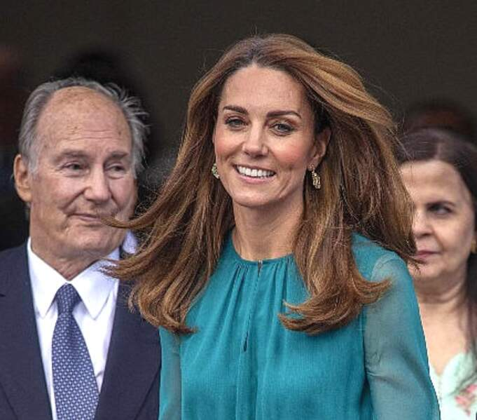 Kate Middleton et son célèbre chatain miel cuivré