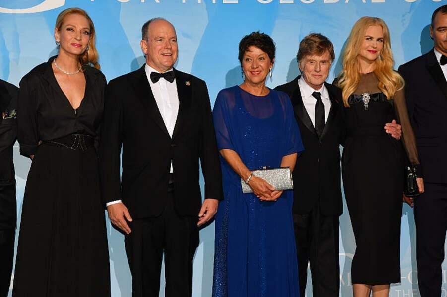 Tout ce beau monde est encore rejoint par Nicole Kidman