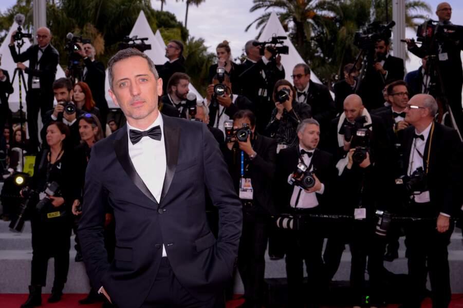 Gad Elmaleh lors du festival de Cannes, le 19 mai 2019