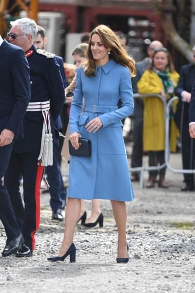 Kate Middleton a été aperçue lors d'une visite à Birkenhead ce jeudi 25 septembre