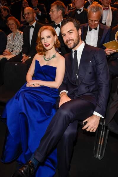 Jessica Chastain a épousé le comte italien Gian Luca Passi de Preposulo, le 10 juin 2017