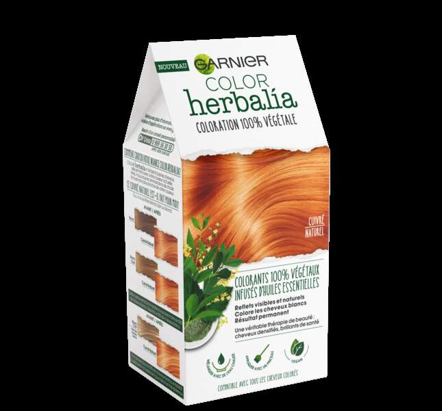 Coloration végétale: Color Herbalia, Garnier, 12,90€