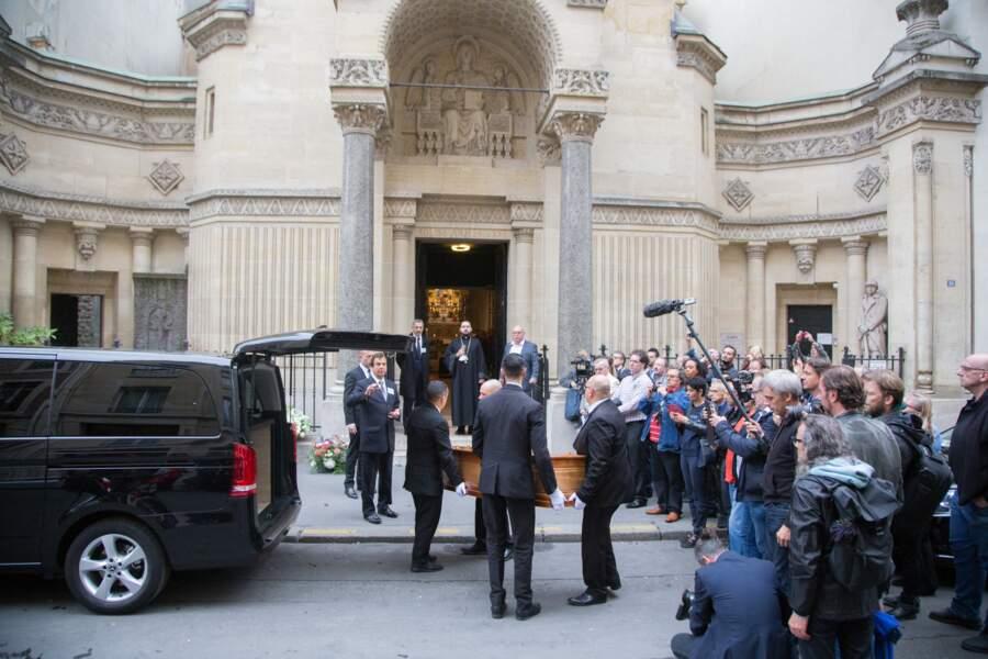De nombreuses personnalités étaient présentes pour dire au revoir à Charles Gérard