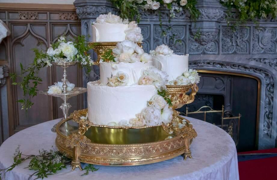 Quand Meghan et Harry ont opté pour une pièce montée bio et sans gluten pour leur gâteau de mariage