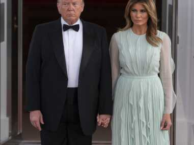PHOTOS - La dernière robe de Melania Trump étrillée par une célèbre rédactrice de mode
