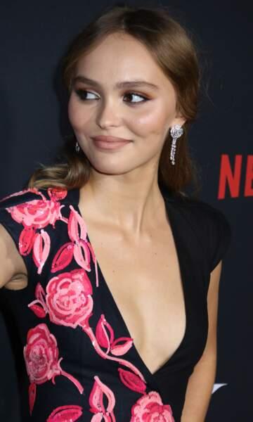 Lily-Rose Depp, la fille de Vanessa Paradis, est son sosie