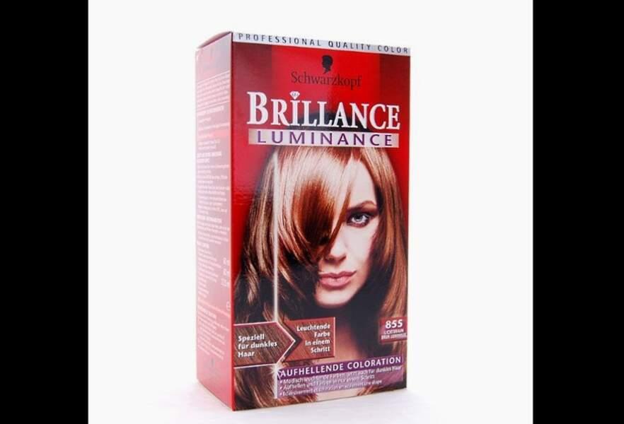 Coloration spéciale cheveux foncés: Brillance Luminance, Schwarzkopf, 9,50€