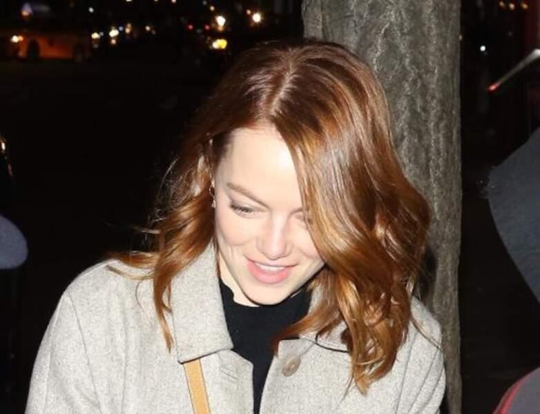 Des beaux reflets roux pour Emma Stone