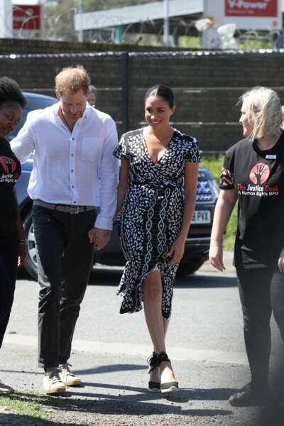 Meghan Markle et le prince Harry toujours main dans la main et complices le 23 septembre 2019
