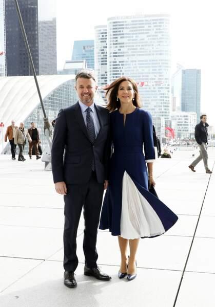 Frederik et la princesse Mary de Danemark, un couple très élégant en voyage officiel à Paris pour 3 jours