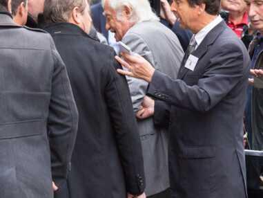 PHOTOS - Obsèques de Charles Gérard : Jean-Paul Belmondo présent pour dire au revoir à son ami