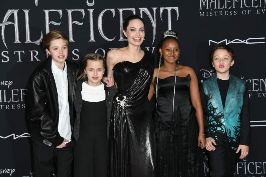 Knox Jolie-Pitt ressemble de plus en plus à son papa Brad Pitt