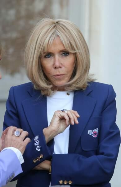 Brigitte Macron est très concernée par la question du patrimoine, ce vendredi 20 septembre en Seine-et-Marne.