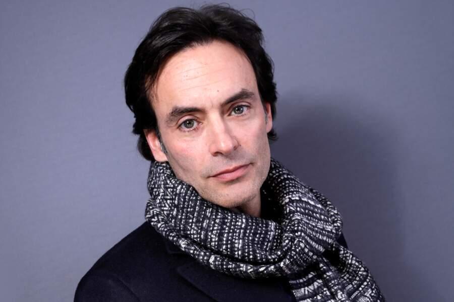 Anthony Delon, en studio à Paris en 2016