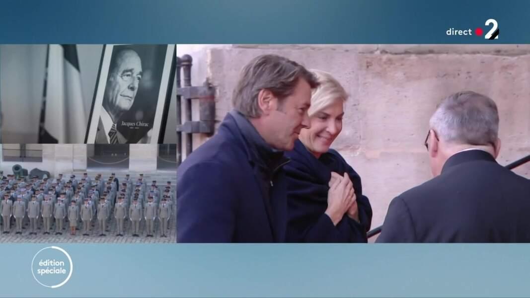 Michèle Laroque et François Baroin ont été présentés par Claude Chirac