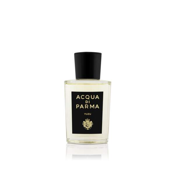 Eau de parfum Yuzu Signatures of the Sun, Acqua di Parma, 198 € les 100ml