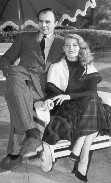 Rita Hayworth a mis sa carrière de comédienne entre parenthèse pour épouser le prince Ali Khan en 1949