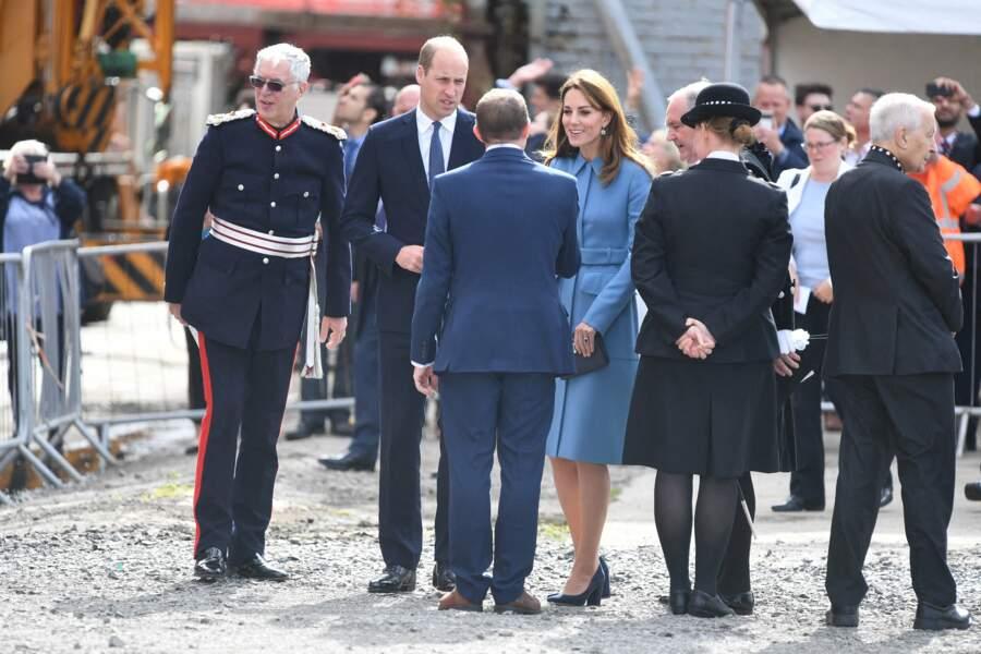 Kate Middleton et Harry ont assisté à la cérémonie de baptême du nouveau navire de recherche polaire britannique
