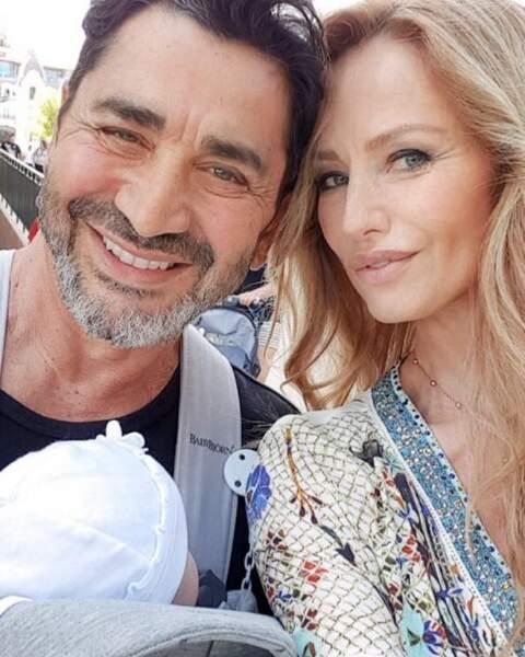 Adriana Karembeu et son mari André Ohanian affichent leur bonheur avec Nina sur les réseaux sociaux