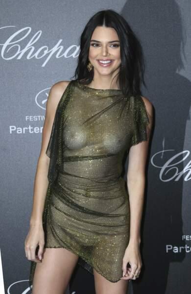 Kendall Jenner était invitée à la soirée Chopard