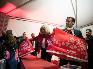 PHOTOS - Brigitte et Emmanuel Macron célèbrent le Noël de l'Elysée